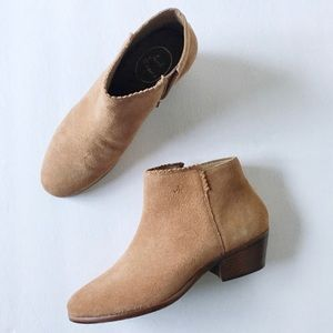 Jack Rogers NWOT Suede Ankle Boots